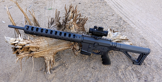 Dave Lauck Sends: M.O.R. Rifles and Carbines