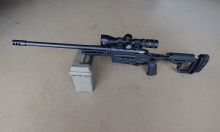 Dave Lauck sends: MR-30 Compact Precision Rifle