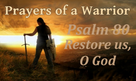 """Prayers of a Warrior"": Psalm 80 – Restore us, O God, by CountrySlicker"