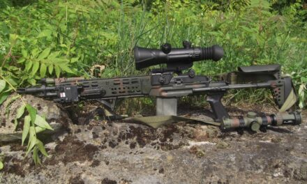 The AGM Wolverine 4X Gen 2+ Night Vision Scope