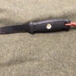 Badlands Fieldcraft: Adding a bow drill socket to my belt knife handle