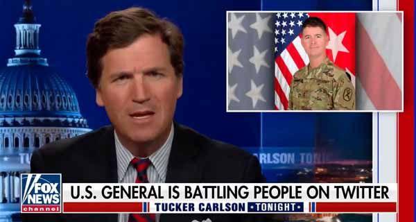 "Tucker Carlson goes after the woke ""generals"""
