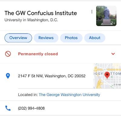 Confucius Institutes: Going, Going, And it's Gone…