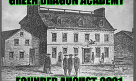 Green Dragon Academy: Next Class is Wednesday, September 8th 2021