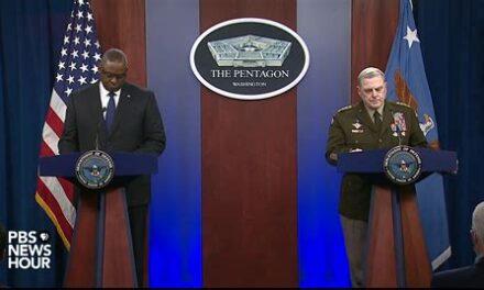 SecDef Lloyd Austin and Gen. Mark Milley: Afghanistan Briefing August 17th, 2021