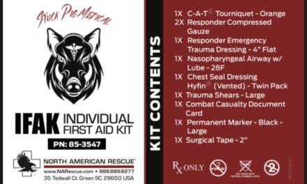 Stuck Pig Medical IFAK's have been ordered