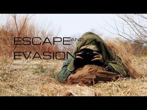 Black Scout Tutorials – Escape and Evasion [Noise, Light, & Litter Discipline]