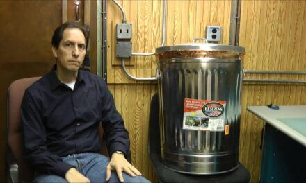 Testing Garbage Cans and EMP Bags