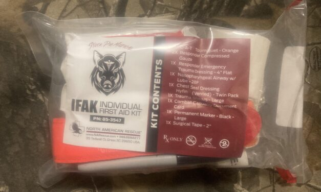 IFAK's are available!