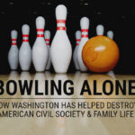 Ammo.com: Bowling Alone – How Washington Has Helped Destroy American Civil Society and Family Life